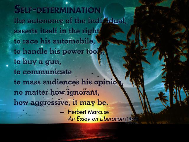 essay about self-determination