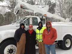Utility Crews Arrive on Cape Cod