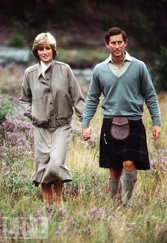 1981 Charles and Diana's honeymoon in Balmoral, Scotland in 1981.0