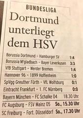 FAS: Bundesliga-Ergebnisse