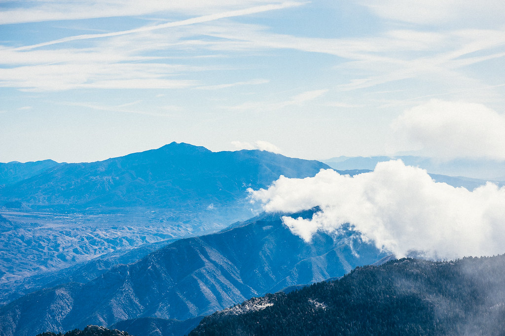 View From San Jacinto peak
