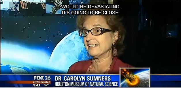 Carolyn Sumners talks Valentine's Asteroid on MyFoxHouston