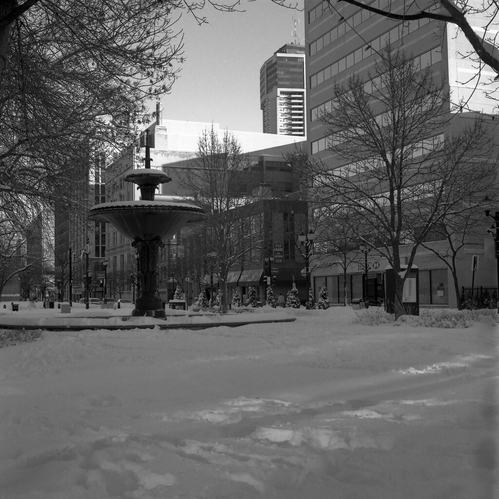 Downtown Hamilton - Febuary 2013
