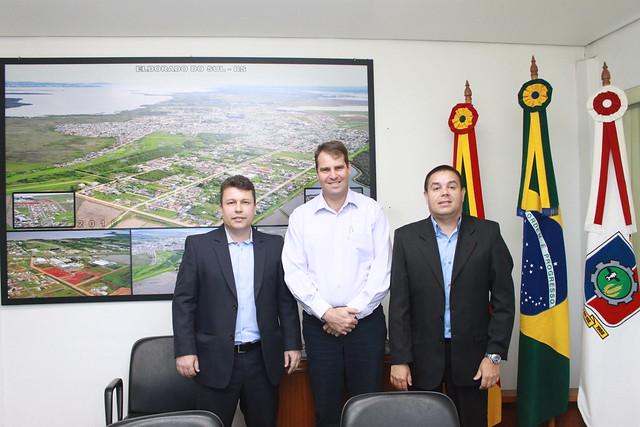 Reunião com prefeito de Eldorado do Sul