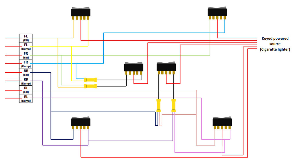 Switch Box Wiring Diagram : Air ride switch box wiring diagram