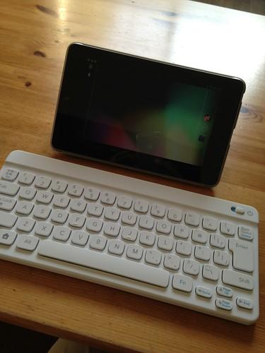 Nexus 7 ポケモンキーボード