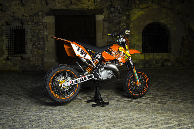 ktm exc 125 supermotard flickr photo sharing. Black Bedroom Furniture Sets. Home Design Ideas