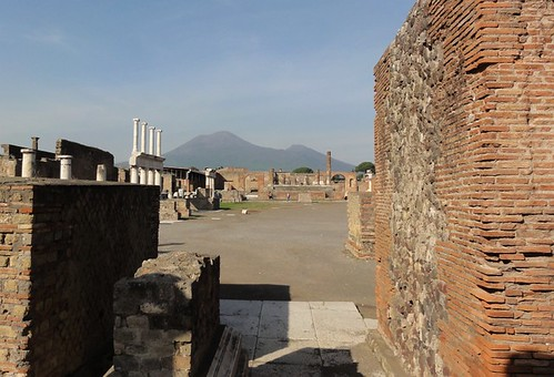 Roman Forum in Pompeii