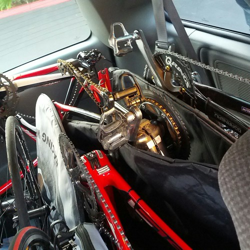 Four Bikes in a minivan