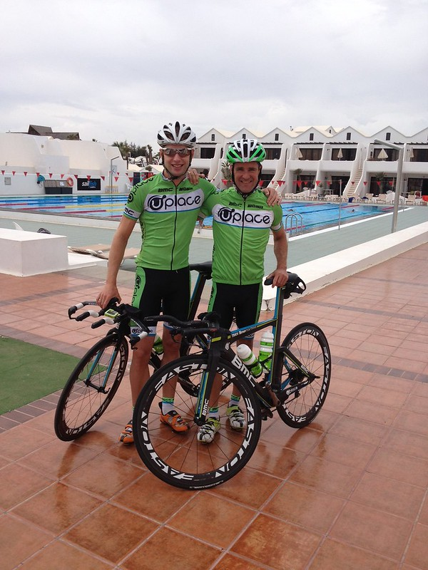 Bart Aernouts came 4th in Abu Dhabi long course Triathlon on Saturday