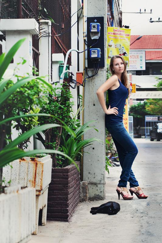 Фотосессия в Тайланде, фотосессия пары, прогулочная фотосессия