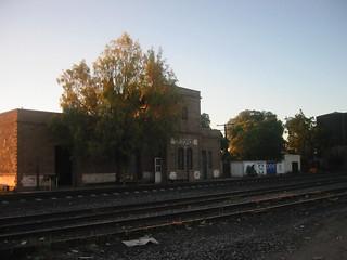Estación de Tren Catorce, San Luis Potosí/ Catorce Train Station San Luis Potosí