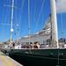"""El MegaYate Hetairos """"El Gigante Verde del Mar""""  en el puerto Las Palmas de Gran Canaria"""