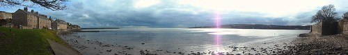 Panorama of Berwick upon Tweed estuary