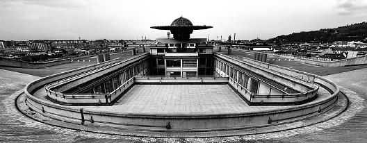 Fiat vom Dach