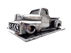 The Truck. '51 Ford F1 Sculpture.