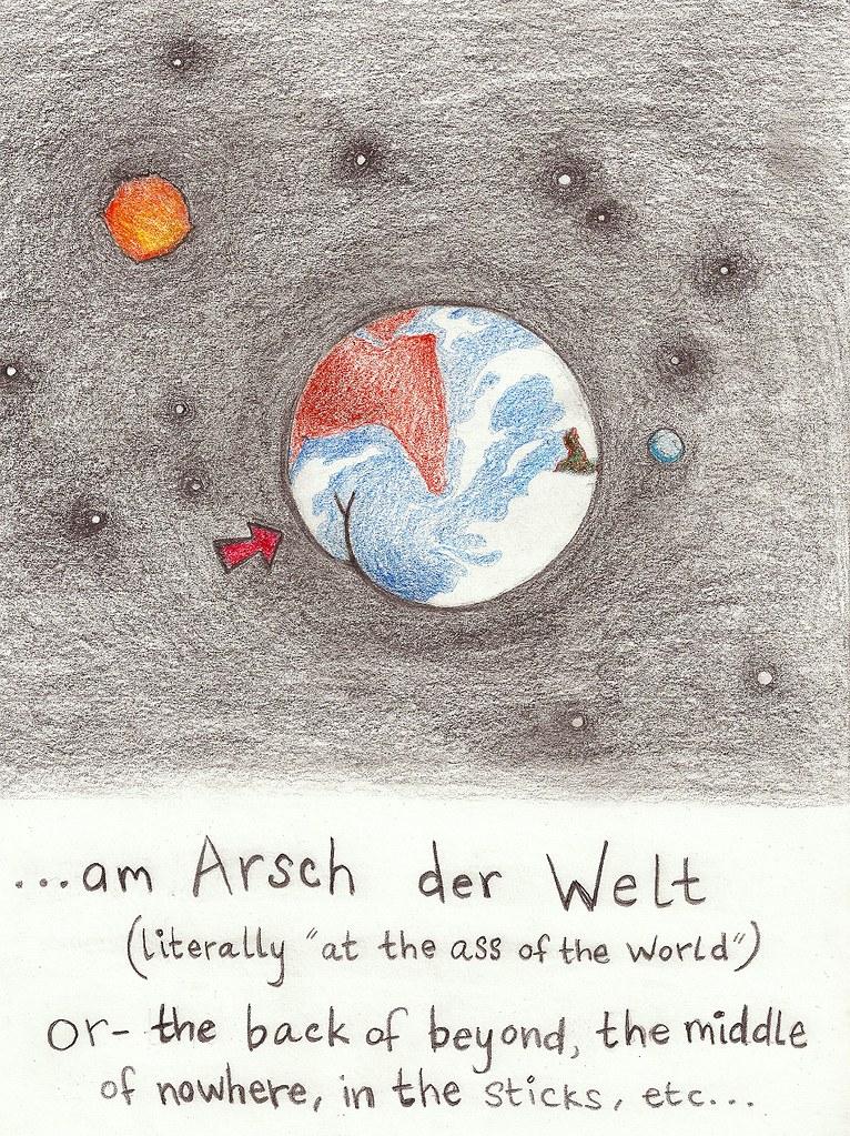 Daily Deutsch: Am Arsch der Welt
