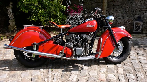 INDIAN Chief 1200 1948 ( Fr ) by vintage-revival
