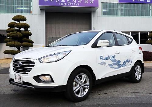 Hyundai ix35 – первый серийный автомобиль на водородных топливных элементах