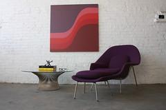 Sensuous Warren Platner Mid Century Modern Coffee Table for Knoll (U.S.A., 1966)