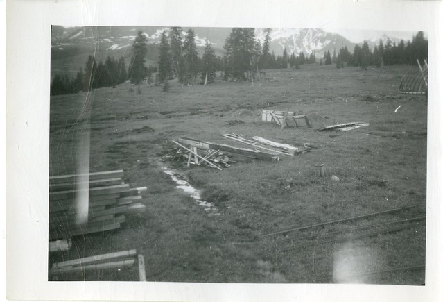 Chalk Mountain site, 1949