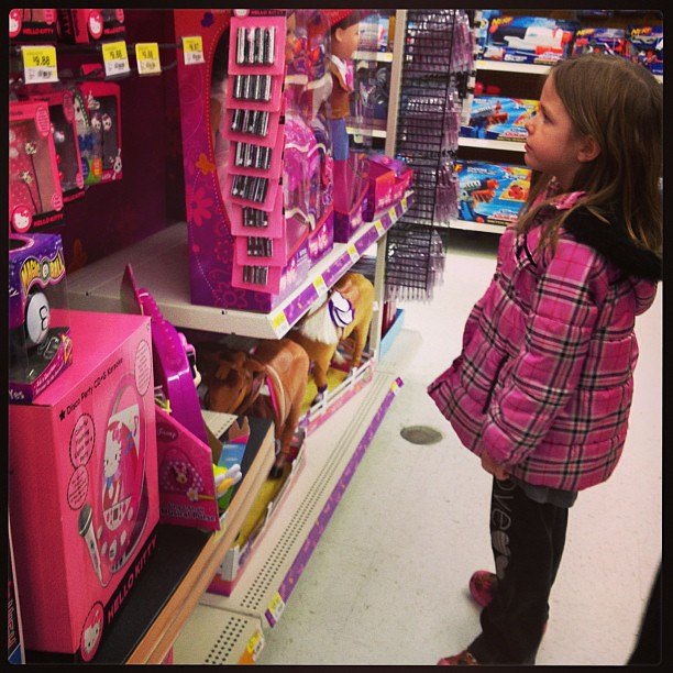 Walmart Toy Aisle Boys : Hearing another little kid screaming in toy aisle at wal