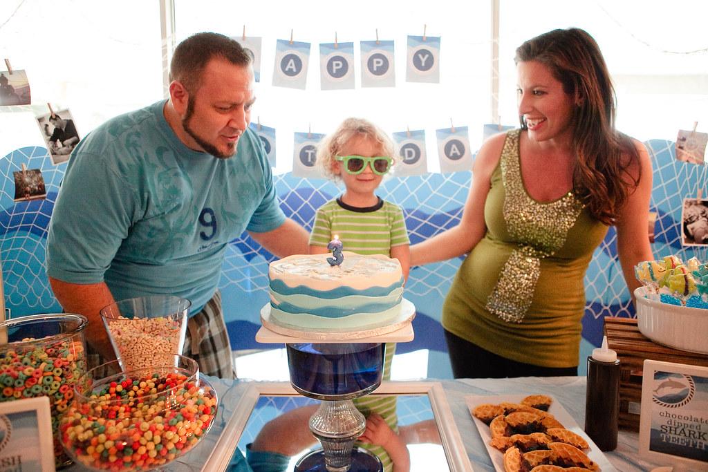 Brayden's Under the Sea Birthday Party-37