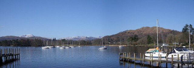 Lake Windermere from Ambleside Waterhead