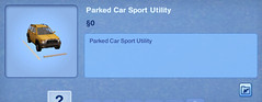 Parked Car Sport Utility