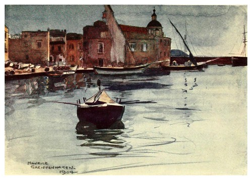 018-Pozzuoli-Naples  past and present-1905-Maurice Grieffenhagen