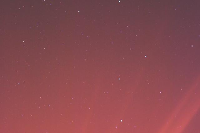 Cieli rosa alieni