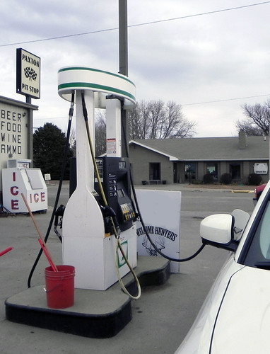 USDA funding helped the Paxton Pit Stop in Nebraska install two flex fuel pumps allowing customers to purchase higher-graded locally-produced ethanol 24 hours a day.