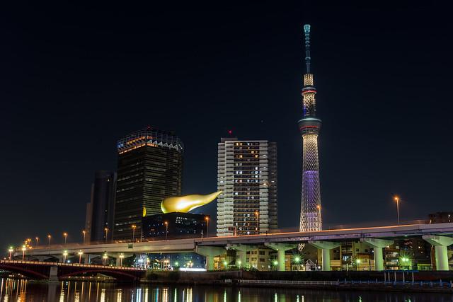 東京スカイツリー 特別ライトアップ