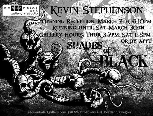 Shades of Black @ Sequential Gallery