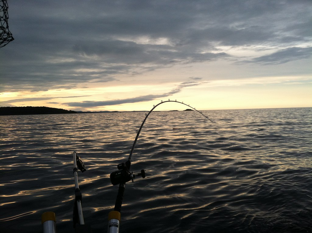 Pictures of lake superior charter fishing for Lake superior fishing charters