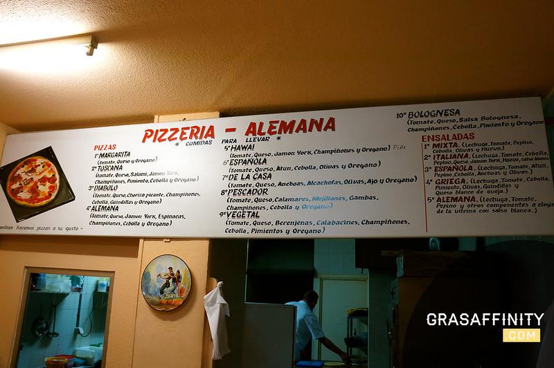 Restaurantes en Murcia: Pizzería Alemana // Grasaffinity
