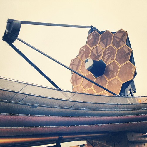 JWST in the Rain at South by Southwest