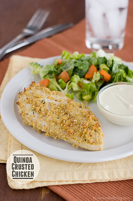 Quinoa-Crusted-Chicken-recipe-taste-and-tell