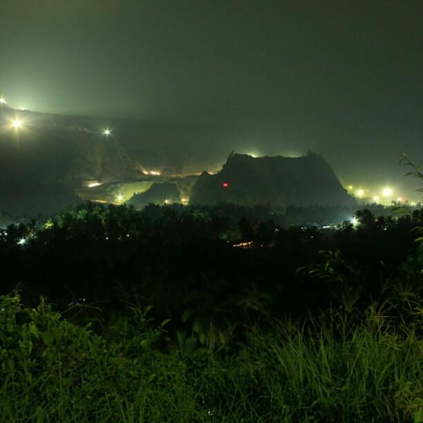 Flickering hills #limestone #mining #Padang #WestSumatra