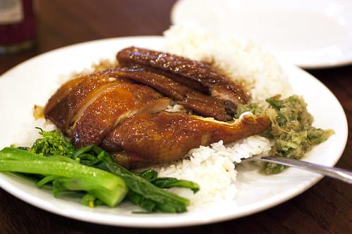 soy sauce chicken @ yee li