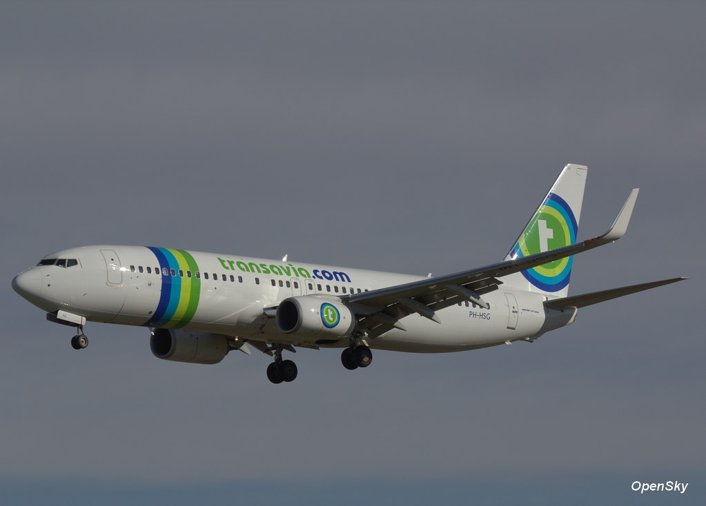 Transavia Boeing 737-8K2(WL) PH-HSG (cn 39262)
