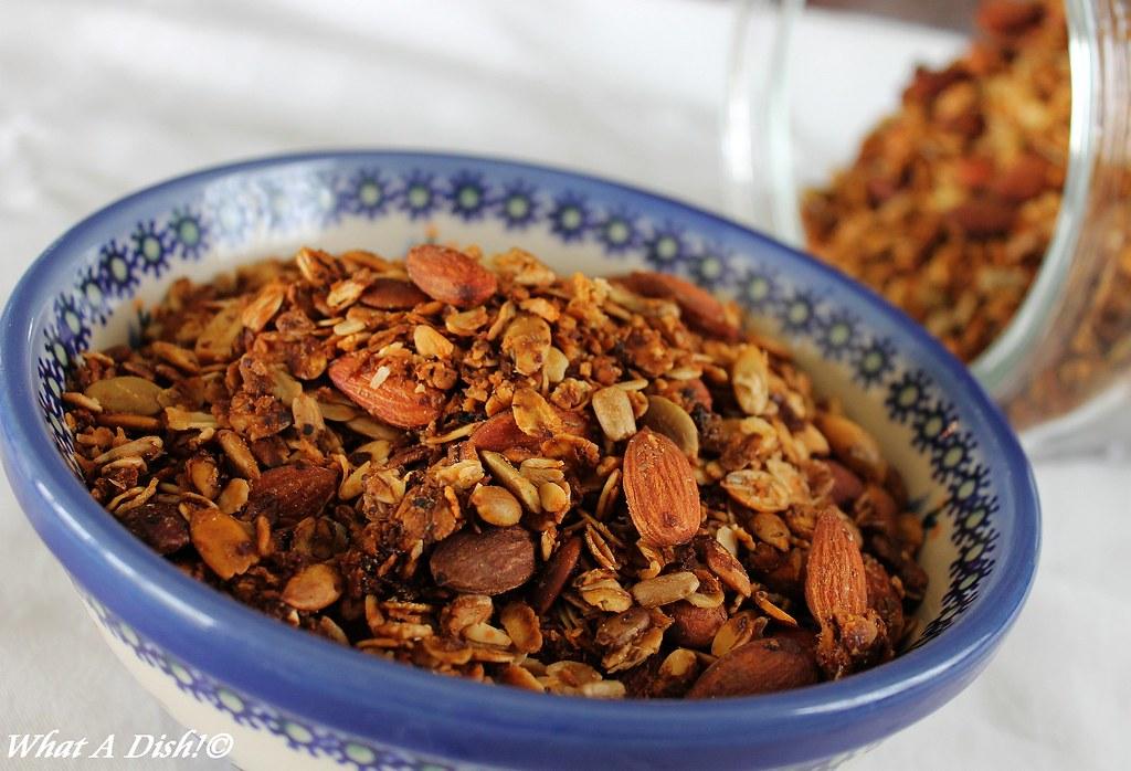 Granola with Coconut Oil