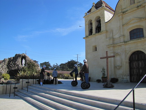 Stop at the San Carlos Chapel on Segway Tour Monterey