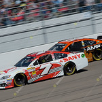 LAS VEGAS MAR 10 David Blaney 7 Races Dale Earnhardt Jr 88 At The Nascar Kobalt 400 In Las Vegas NV On Mar 10 2013