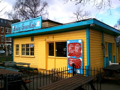 Bowling Green Cafe in Clapham Common London