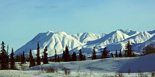 winter mountain snow mountains nature alaska america landscape outside landscapes woods scenery wilderness winterlandscape mountainpeaks lastfrontier alaskalandscape jlsphotographyalaska