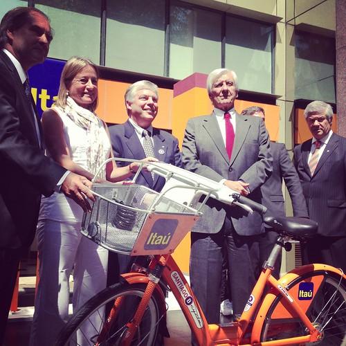 Lanzamiento Santiago B-Cycle