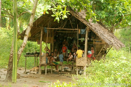 A few of the Batak Tribe at their kubo