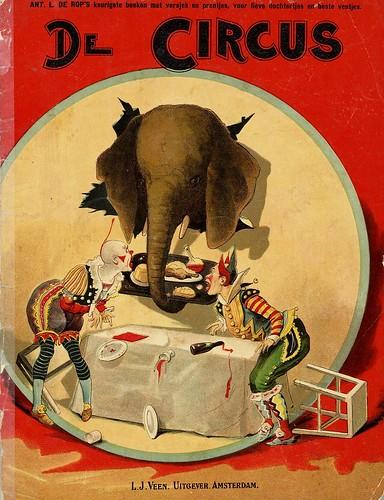 de circus bookcover  org 1890