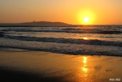 Puesta de sol en La Serena | Sunset at La Serena